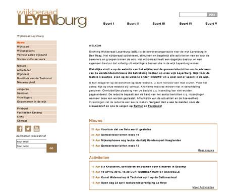 Wijkberaad-Leyenburg Den Haag