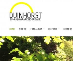 Website voor VvE Duinhorst
